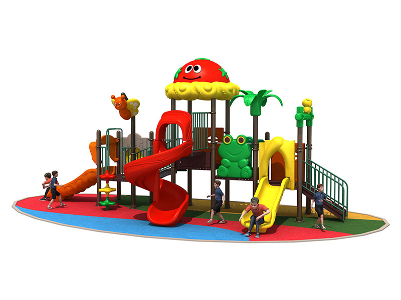 Plastic Outdoor Toddler Playset for Nursery RY-001