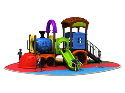 DIY Outdoor Play Castle with Slide TMS-003