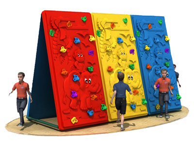 High Quality Outdoor Playground Climbing Wall PQ-006