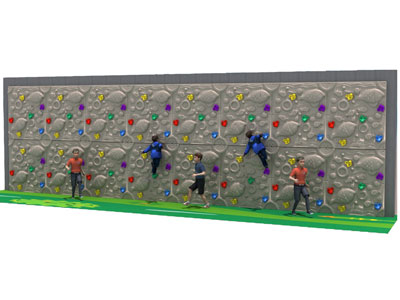 Plastic Outdoor Climbing Equipment for Schools PQ-011
