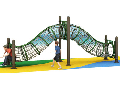 Outdoor Rope Cargo Netting Playground for Schools GZ-011