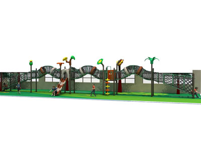 Best Selling Outdoor Rope Tunnel Bridge for Kids GZ-008