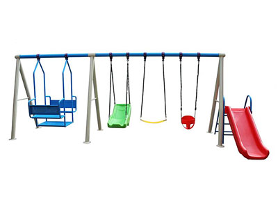 Garden Swing and Slide Set for Toddlers SW-004