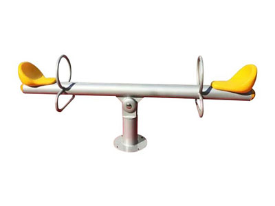 Two Seats Outdoor Childrens Seesaw for Parks SS-003