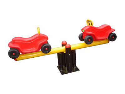 Lovely Vehicle Shaped Teeter Totter for Playground SS-007