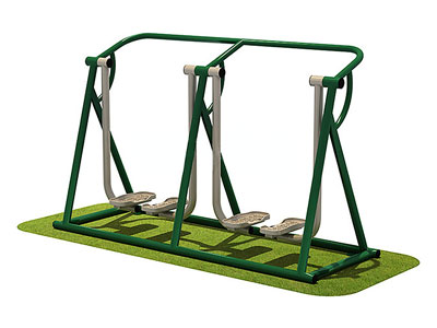 Park Gym Equipment Double Air Walker for Children OF-022