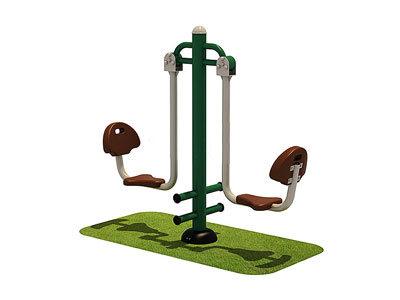 Outdoor Gym Equipment Prices Seated Leg Press Trainer OF-010