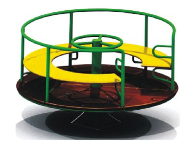 Inclusive Children Roundabout Play with Seats MG-010