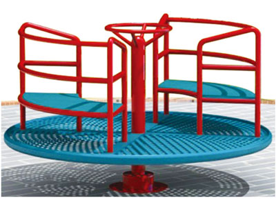Small Mechanical Childrens Roundabout for Parks MG-011