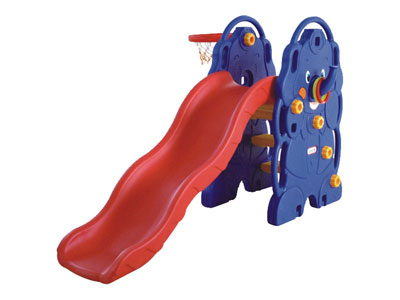 Indoor Small Kids Slide with Basket SH-010