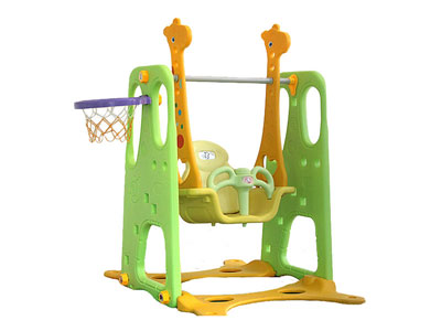 Popular Plastic Indoor Infant Swing for Sale SH-014