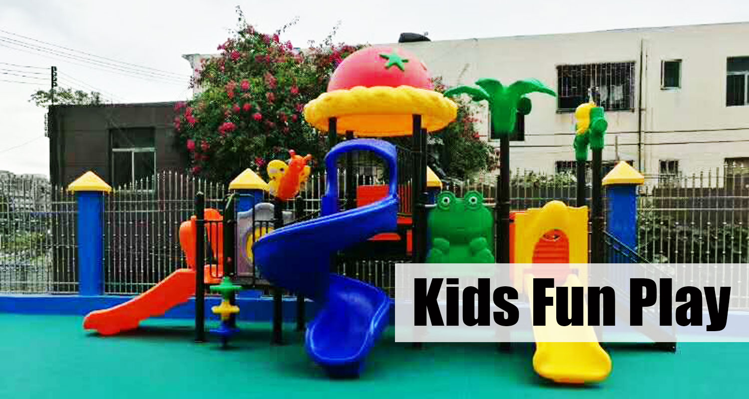 Plastic Outdoor Toddler Playset for Nursery