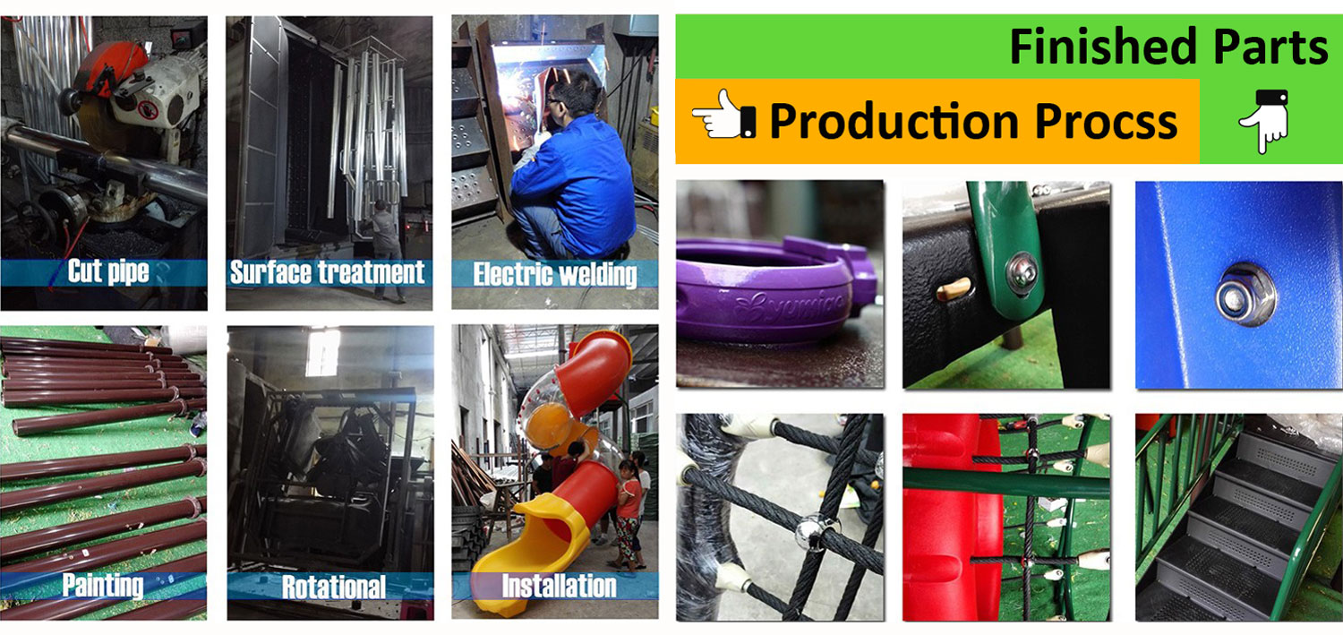 Production of Park Playground Equipment